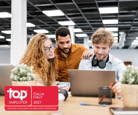 Zurich Top Employer 2021